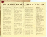Facts about the Hollywood Canteen