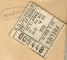 Follies ticket stub from Los Angeles. California