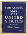Servicemen's Map of the United States