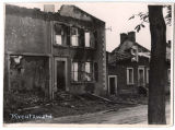 War-torn buildings in Kreutzwald, Germany