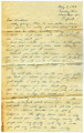 Joseph M. Fisher letter 1944-05-09 (To Grandmother)
