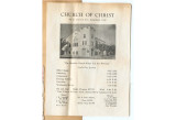 Program from Church of Christ (Long Beach, California) 1943-10-03