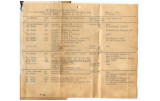 Camp Hood TD school schedule 1943-10-18
