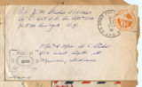 Joseph M. Fisher letter envelope 1944-12-11