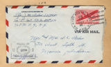 Joseph M. Fisher letter envelope 1945-01-16