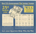 Buy U. S. Government War Savings Stamps