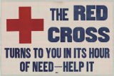 Red Cross Turns To You In Its Hour Of Need