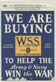 We Are Buying W. S. S. War Savings Stamps