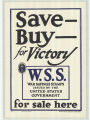 Save-Buy-For Victory