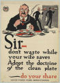 Sir-Don't Waste Food While Your Wife Saves
