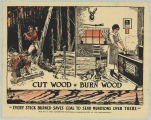 Cut Wood Burn Wood