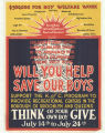 Will You Help Save Our Boys