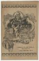 Wysor's Grand Opera House program for A Celebrated Case