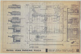 Rural Loan parking plaza: Layout plan and paving details