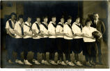 1925 Yorktown High School girls basketball team