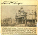 Album of yesteryear: Lake View Hotel