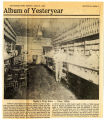 Album of yesteryear: Byerly's Drug Store