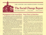 Social Change Report Newsletters