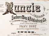 Muncie Sanborn Fire Insurance Maps
