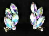 Earrings - Aurora borealis crystal