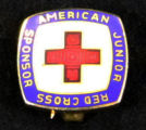 Pin - Junior Red Cross sponsor