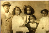 Unidentified children (five children)