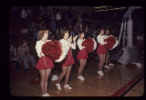 Ball State University Cardinal's men's basketball cheerleaders