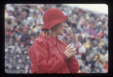 Ball State University Cardinal's football fan, 1975