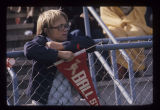 Ball State University Cardinals football fan, 1975