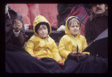 Ball State University Cardinals football child fans, 1976