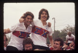 Sigma Chi celebrating at the Bike-a-thon, 1976