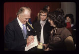 Red Skelton signing autograph