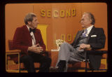 Red Skelton being interviewed by Jim Nickerson for Second Look on WIPB-TV