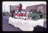 Ball State University Homecoming parade float, 1971