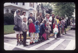 Ball State University Homecoming parade spectators, 1971