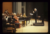 Arthur Fiedler with the Muncie Symphony Orchestra at Emens Auditorium