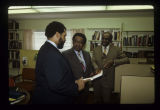 Robert Coatie and Robert Foster with civil rights leader Ralph Abernathy
