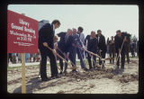Bracken Library groundbreaking group