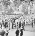 Ball State University summer commencement, 1966