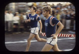 Beta Theta Pi runners competing in Greek games, 1968