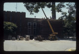 West Quadrangle Building addition construction