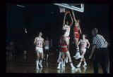Ball State University Cardinals vs. Northern Illinois University Huskies men's basketball, circa...
