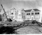 Ball State University Fine Arts Building construction