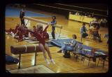 Ball State University Cardinals women's gymnastics meet