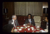 Pres. Robert P. Bell with civil rights leader Ralph Abernathy