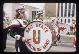 Ball State University Marching Band in Homecoming parade