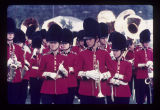 High school band members at Ball State University Band Day, 1971