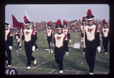 Ball State University Marching Band at Band Day, 1972