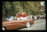 Ball State Teachers College homecoming parade, circa 1954-1960
