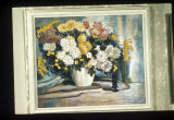 Flowers painting by Francis Focer Brown